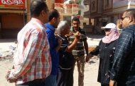تحت شعار (شباب بيحب جمصة) رجل أعمال يتبرع لتجميل منطقة