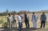 النيلي: تتفقد مزرعة سيوة الثانوية الزراعيةبمنطقة الشحايم ومساحتها 30 فدان