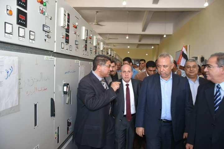 افتتاح لوحة توزيع الكهرباء بمنطقة أبو كبيش بالصالحية القديمة بفاقوس شرقية