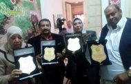 بالصور : ابوصدام يكرم الحصري نقيب فلاحين الغربية