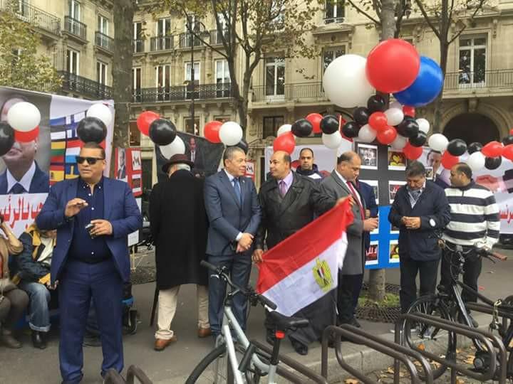 الجالية المصرية بفرنسا...سنثبت للعالم أن مصرتدعم الرئيس السيسي