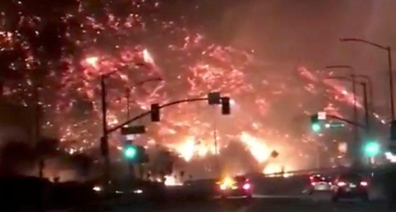 الغضب الساطع : أمريكا تحترق و فرار نحو مئتي ألف شخص