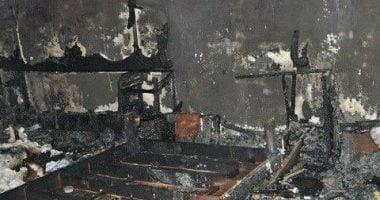 نشوب حريق بشقه سكنية بجمصة.......دقهلية