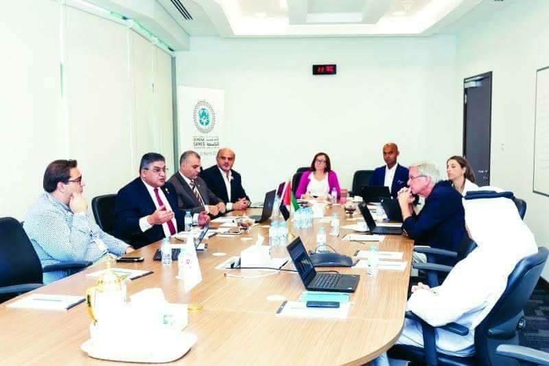 الرئيس الاقليمى للاولمبياد الخاص الدولى يجتمع باللجنة التنفيذية للالعاب العالمية بأبوظبى 2019 لوضع اللمسات الأخيرة على الالعاب الاقليمية التاسعه