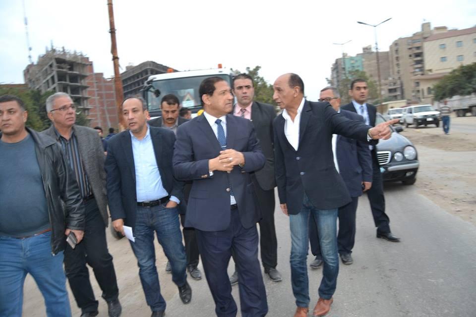 جولة ميدانية للواء احمد ضيف صقر محافظ الغربية بتفقد حى ثان طنطا