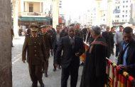 جنرال الغربية ....يتفقدخدمات تامين المسجد الاحمدى بطنطا