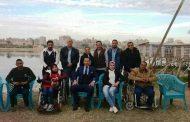 الجمهورية اليوم : محافظ السويس يخصص10000 متر لبناء نادى اجتماعى لذوى الإحتياجات الخاصة