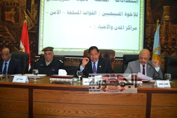 محافظ الغربية يترأس المجلس التنفيذي للمحافظة