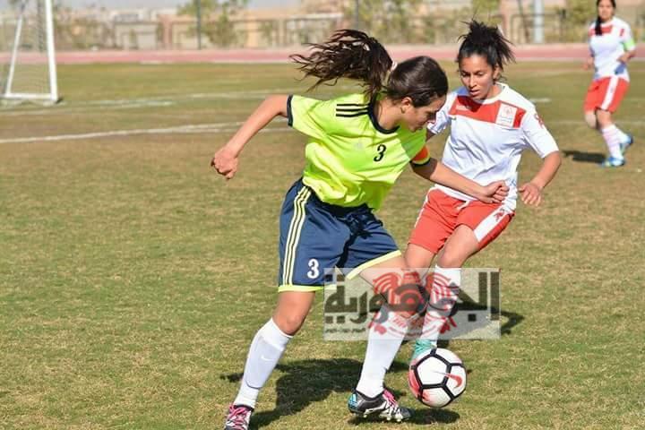 نصف دسته أهداف فى افتتاحية تصفيات أول كأس اقليمى  لكرة القدم النسائية الموحدة للاولمبياد الخاص