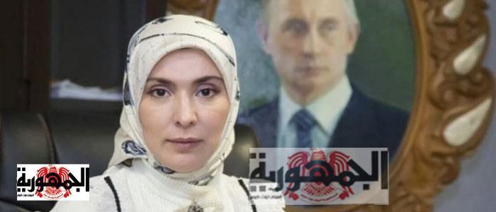 آنية حمرتوفا مرشحة الرئاسة ضد بوتين