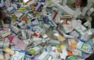 ضبط ومصادرة ادوية فاسده بمخازن صيدلي بالمنزلةدقهلية