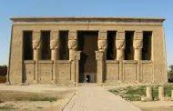 معبد دندرة في قنا يستقبل 150 سائح من مختلف الجنسيات