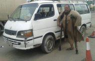 ضبط سائق ميكروباص على طريق الإسكندرية الصحراوي بقدم واحدة