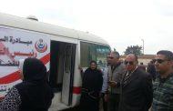 رئيس سمنود .....يزور القافلة الطبية بالناصرية برعاية زايد