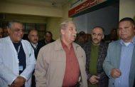 محافظ الاسماعيلية يفاجئ المستشفى العام في زيارة ليلية للاطمئنان علي سير العمل.