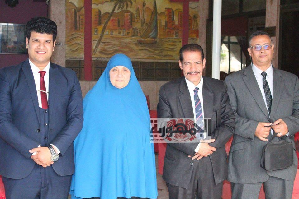 أول اجتماع لمكتب سفراء السلام بكفر الشيخ المنبسقة من المركزية....