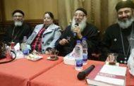 احتفال كنيسة سمنود بعيد سيامة القمص ابانوب لويس