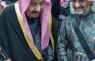 بالفيديو ..وبعد حبسه ..الملك سلمان بن عبد العزيز يرقص مع الوليد بن طلال