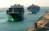 181 سفينة تعبر قناة السويس خلال الأربعة أيام الماضية بحمولة 12.7 مليون طن .