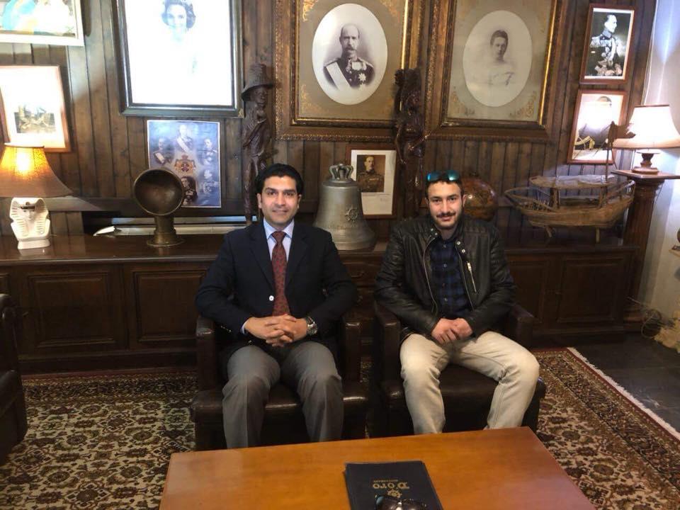 بالصور..اتحاد شباب مصر بالخارج ينظم مؤتمرا لدعم السيسي من اليونان