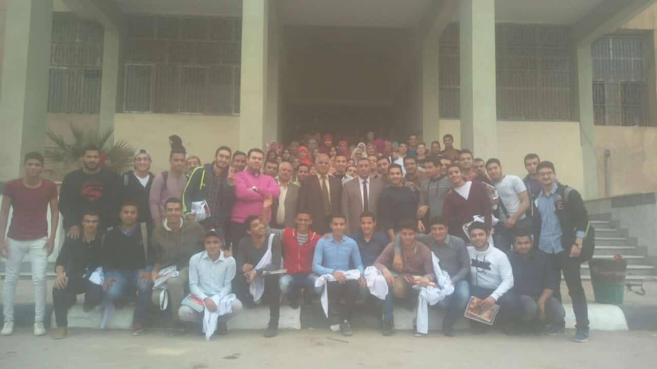 احتفالية في «حب مصر» لطلبة كلية الطب البيطرى بــ جامعة الزقازيق |صور