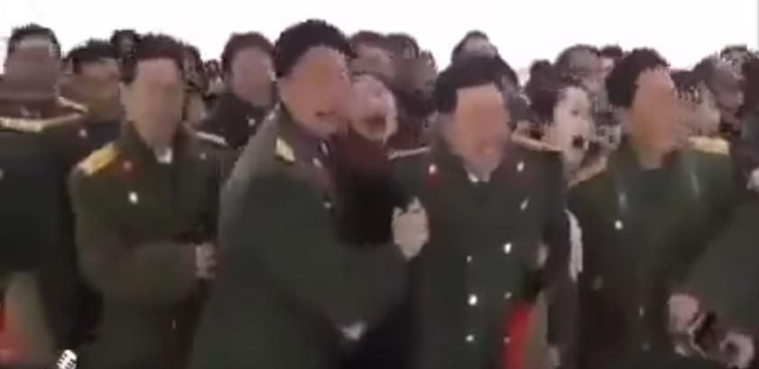 بالفيديو ...وفاة جدة الرئيس الكوري...لا مفر من البكاء غصب ......
