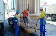 رفع كفاءة مدخل الاسكندرية الزراعي استعداد للشهر الكريم والصيف...