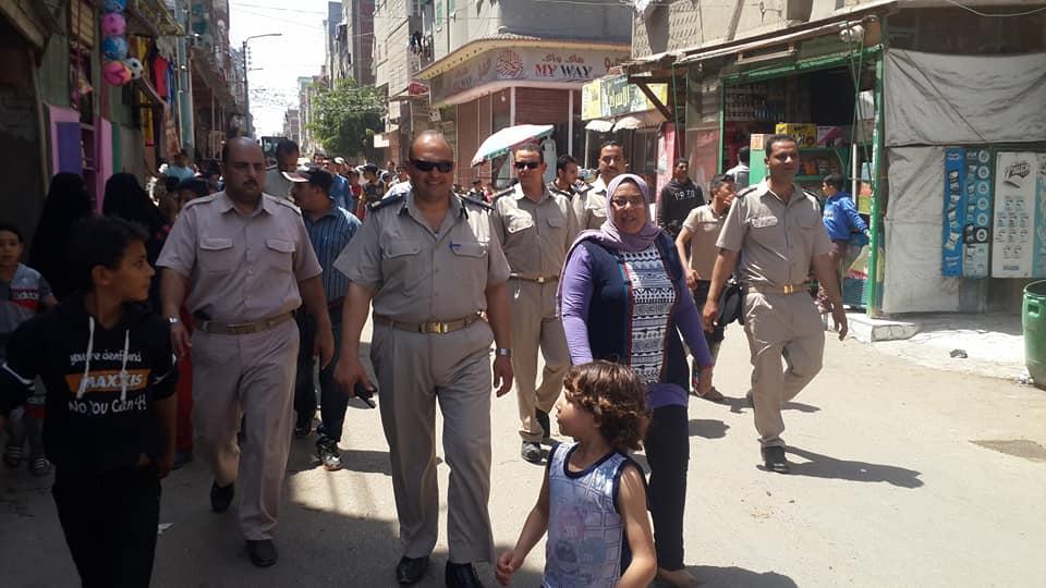 حملة أمنية مكبرة لإعادة الانضباط في الشارع بالدقهلية | صور