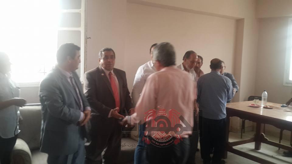 بالصور:حفل تكريم المهندس أحمد فودة لاحالته للتقاعد.