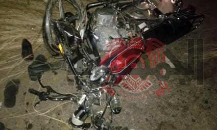 مصرع شخصين وإصابة آخر آثر حادث تصادم دراجتين بخاريتين ببلقاس