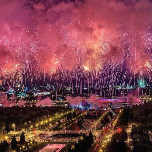 الحضور الرسمي السياسي المؤكد لحفل افتتاح كأس العالم في موسكو بين روسيا و السعودية غداً