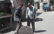 بالصور .. صيانة وتطهير المطابق بحي الجمرك الإسكندرية