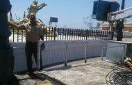 أعمال صيانة لمرفق الكهرباء بالمنتزه ثان بالاسكندرية