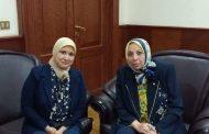 اجتماع نقيب تمريض مصر مع قيادات التأمين الصحي