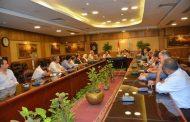 محافظ الغربية يعقد إجتماع لمناقشة سرعة الإنتهاء من كافة المرافق بالمنطقة اللوجيستيه ..