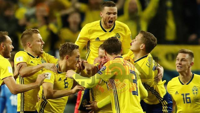 بث مباشر لمباراة السويد وسويسرا