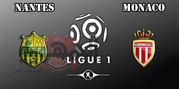 مباراة نانت Vs موناكو