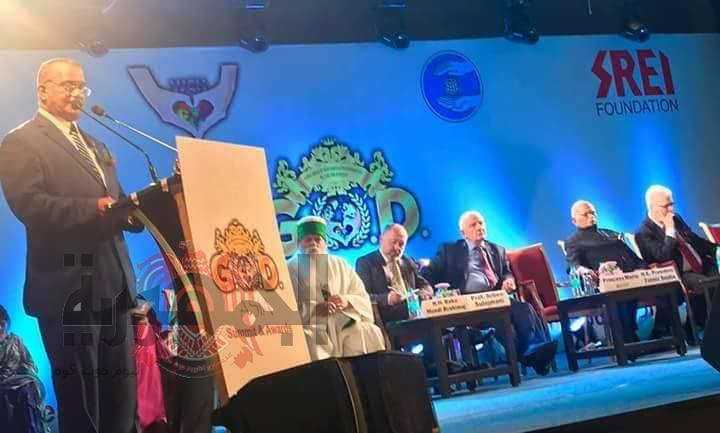 لقاء رجل السلام كمال خليفة ورؤساء وملوك دول العالم في الهند لدور مصر بالسلام العالمي