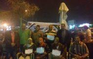 الحركة الشعبية في حب مصر والتبادل الثقافى في استقبال وفد الشرقية بالاسكندرية