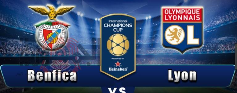 بث مباشر مباراة مباراة ليون vsبنفيكا