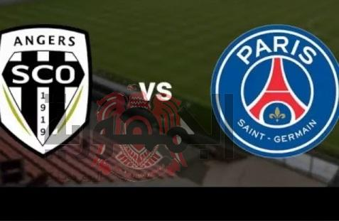 مباراة باريس سان جيرمان وانجيه