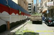 حمله لتجميل امام مدرسه عبدالرازق عبد المجيد حي المنتزة اول بالاسكندرية