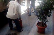 حملة مكبرة حي شرق الاسكندرية لازالة الاشغالات والحدايد والكتل الخرسانية