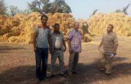 خلق فرص عمل ودعم بالمعدات للشباب لمواجهه نوبات تلوث الهواء فى مجال تدوير المخلفات الزراعية