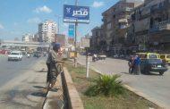 استمرار حملات النظتافة بحي ثان المحلة الكبري