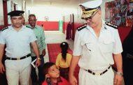 العميد غزالى : إعفاء أبن الشهيد من المصروفات بمدرسة القومية العربية بالإسماعيلية