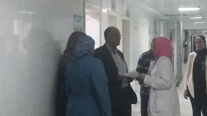 المرور المفاجىء علي مستشفى العامرية أول- اسكندرية