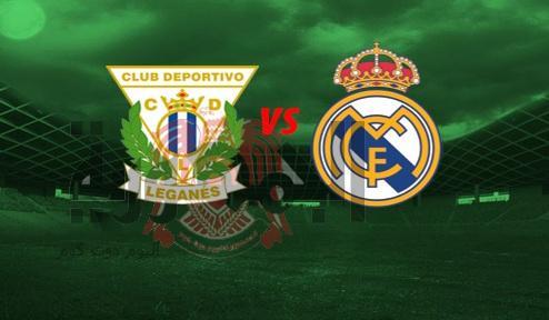 مباراة ريال مدريد وليغانيس