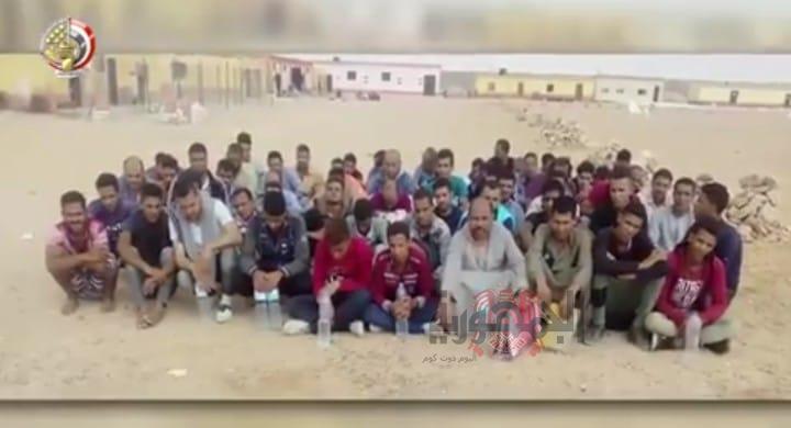 بالصور:البيان الثامن والعشرين للعملية الشاملة سيناء 2018 تصدره القوات المسلحة المصرية