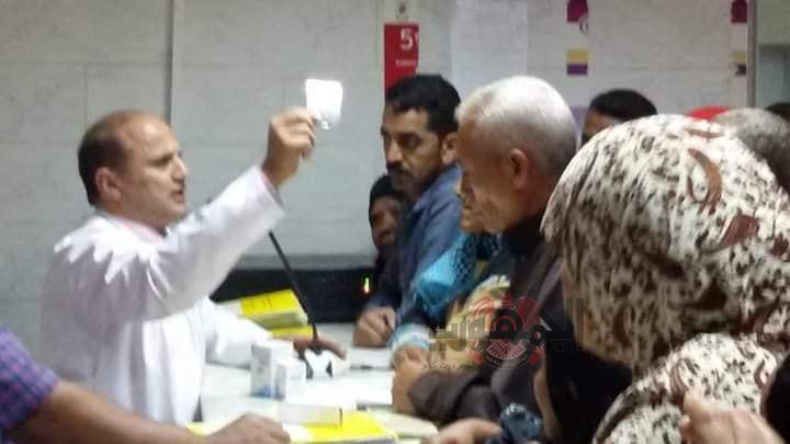 الشيخ يواصل عطائه في توعية مرضي الكبد بالمحلة الكبري